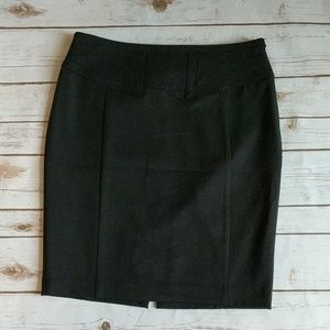 Black Express Pencil skirt